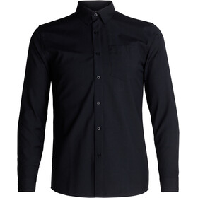 Icebreaker Departure II LS Shirt Men Black
